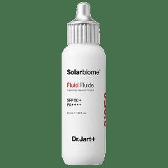 Солнцезащитный флюид для комбинированной и жирной кожи Dr.Jart+ Solarbiome Fluid SPF50+ PA++++