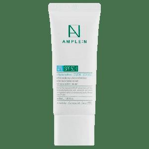 Солнцезащитный крем для лица с гиалуроновой кислотой Ample:N Hyaluron Shot Ampoule Sun Care SPF50+ PA++++ IRF20
