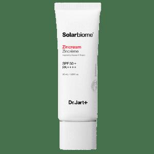 Успокаивающий солнцезащитный крем для лица Dr.Jart+ Solarbiome Zincream SPF50+ PA++++