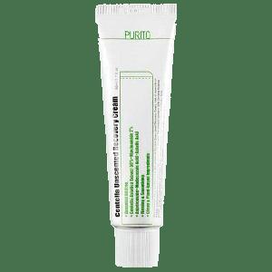Купить восстанавливающий крем для лица с центеллой без запаха Purito