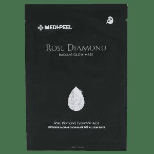 Тканевая маска для лица с алмазной пудрой и экстрактом розы Medi-Peel