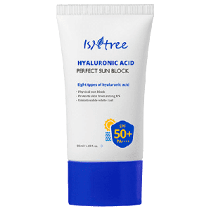 Купить солнцезащитный крем для лица с гиалуроновой кислотой Isntree
