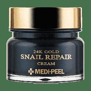 Купить антивозрастной улиточный крем с коллоидным золотом Medi Peel