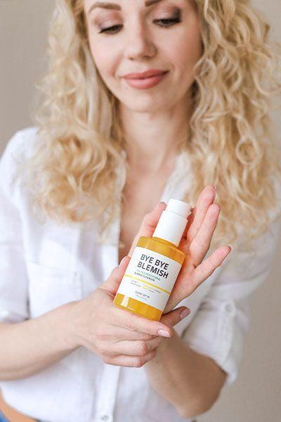 Some by Mi Bye Bye Blemish Vita Tox Brightening Bubble Cleanser купить на сайте New Skin