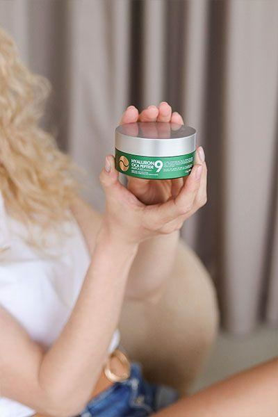 Medi Peel Hyaluron Cica Peptide 9 Ampoule Eye Patch купить на сайте New Skin