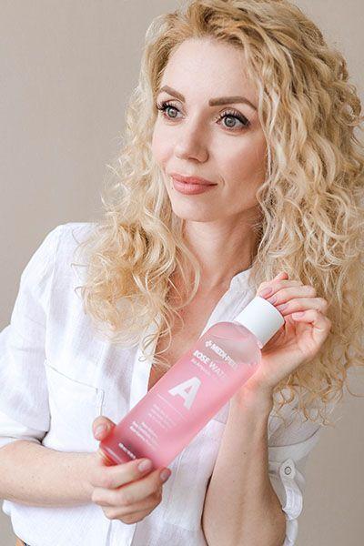 Купить тоник для лица розовый Medi Peel Rose Water Bio Ampoule Toner