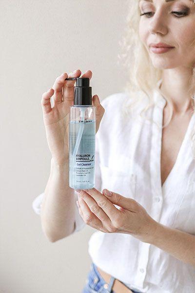 Trimay Hyalurone Ampoule Gel Cleanser купить в интернет магазине New Skin