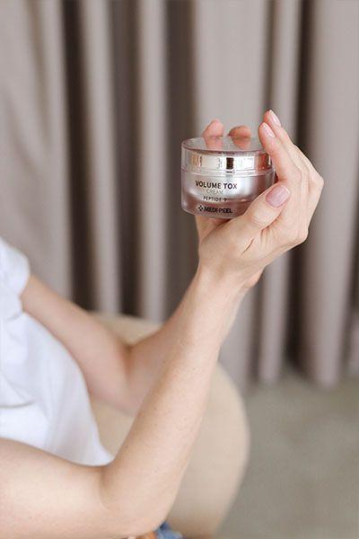 Medi Peel Peptide 9 Volume Tox Cream цена в интернет магазине New Skin